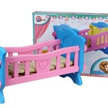Кроватка для куклы Технок арт. 4173