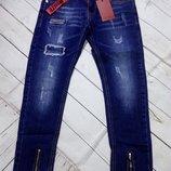 Стильные джинсы для девочек 134-164