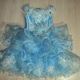 Нарядное новогоднее платье снежинка или снежная королева