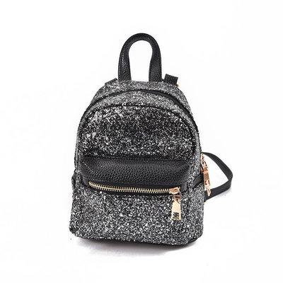 890604f75255 Маленький рюкзак с блестками из экокожи 3 цвета   385 грн - зонтики ...