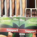 Колготки Vanessa Support 40 den размер от 44 до 56