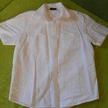 Рубашка Next Некст, белая, 7 лет