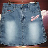 Юбка джинсовая 42-46