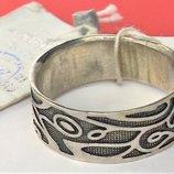 Кольцо перстень новый серебро 925 проба 19,5 размер 4,74 грамма