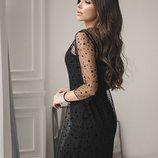 Платье Материал Платья на брительках-приятный к телу суперсофт, не просвещается
