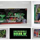 Наборы супергероя Халк. Hulk. Маска. Герои. Оружие.