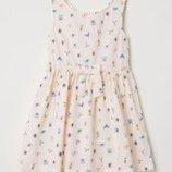 Платье, сарафан h&m 5-6 лет