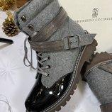 Женские ботинки Brunello Cucinelli