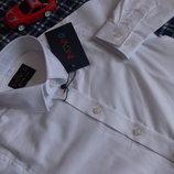 Рубашка белая INGVAR SLIM рост 86-122