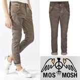 Брендовые женские масляные коттоновые прямые джинсы брюки mos mosh турция этикетка Размер указан 30