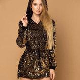 Женская нарядная туника-платье 201 Valentino в расцветках