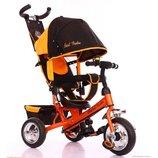 Детский трёхколёсный велосипед 6588 - 1680 Оранжевый