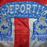 Фирменний оригинал футбольний шарф ф.к депортиво .