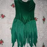 Супер платье новогоднее-елочка leg avenue р.s m p m
