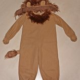 костюм лев 3-4 года