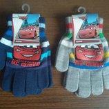 Перчатки детские для мальчика Маквин Тачки молния разные Дисней