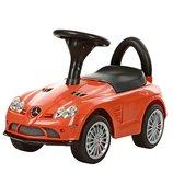 Каталка-Толокар M 3189-7 Mercedes на EVA колесах оранжевый