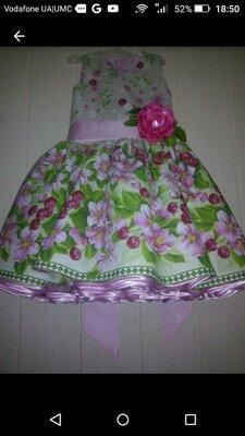 Детские нарядные платья пышные все в наличии
