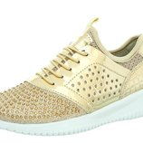 Стильные кросовки со стразами фирмы Beeko Gold