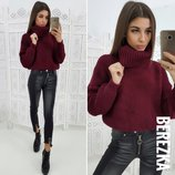 Тепленький свитерок 8 расцветок 42-44 размеры