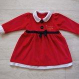 Продаю 9-12 месяцев Карнавальное платье Санта, George, б/у.