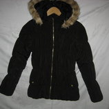 Куртка парка H&M Швеция на рост 152-158 см.12-13 лет.Зимняя. .Куртка на теплом утеплителе . Капюшон