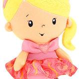 Маленькая плюшевая Принцесса куколка Fisher-Price