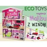 Детский домик для кукол Malibu с лифтом. Польша. Ka