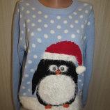Новогодний свитер оверсайз atmosphere, m l