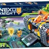 Конструктор Bela 10819 Nexo Knights Передвижной арсенал Акселя 620 дет аналог Lego 72006
