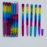 Ручки переливайки с глиттером прикольные новинка детские и для взрослых подарок Новый Год