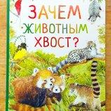 Энциклопедии про животных Зачем животным хвост Росмэн