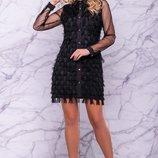 Нарядное платье 44, 46,48,50 размеры 3 цвета