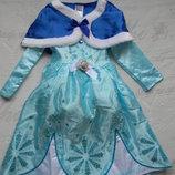 платье Эльзы на 3-5 лет. прокат
