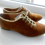 Туфли на шнурках Broder's,35 размер