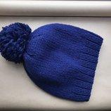 Вязаная шапка вязанная шапка в наличии и под заказ с помпоном