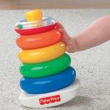 развивающая игрушка пирамидка погремушка оригинал Fisher-Price из Сша