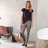 Модные джинсы с блестящим покрытием 42р евро TCM Tchibo Германия