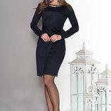 Изящное платье с юбкой на ложный запах 44-50р