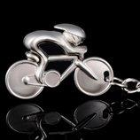 Брелок для велосипедиста, подарок, велосипед, туристу, спортсмену