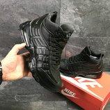 Зимние мужские кроссовки Nike 95 black