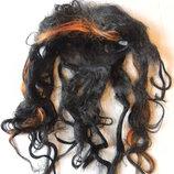 Волосы -новогодняя карнавальная маска
