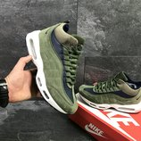 Зимние мужские кроссовки Nike 95 green