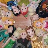 Мягкие куклы игрушки принцессы из мультфильмов Дисней Disney 50 см и 30 см...