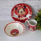 Набор детской посуды Минни Маус