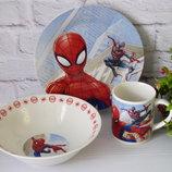 Набор детской посуды Спайдермен