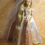 Rapunzel wedding Рапунцель свадебная с вуалью и короной