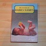 Baby names, детская книга на английском