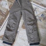 Зимние термо лыжные штаны /140/146/152