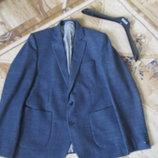 Шикарный красивый жакет пиджак 54